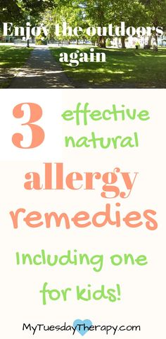 Strengthen your immune system and fight the symptoms with these natural allergy remedies. #allergies #naturalremedies #adrenalfatigue #immunesystem via @www.pinterest.com/mytuestherapy