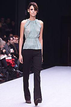 Alberta Ferretti Fall 2001 Ready-to-Wear Fashion Show - Mayana Moura, Alberta Ferretti