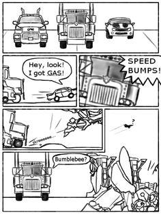 Transformers- Speed Bumps by DarkmaneTheWerewolf on DeviantArt