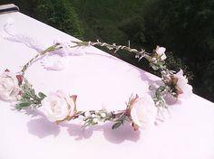 AtaJanson / Kvetinový venček do vlasov