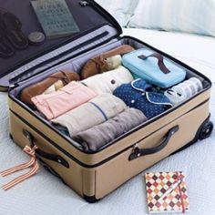 Aprenda a forma correta de arrumar uma mala de viagem - NaTelinha