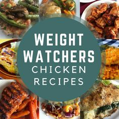 Tons of delicious Weight Watchers friendly recipes using chicken as the main ingredients with Smart Points on Meal Planning Mommies. #chicken #easydinners #weightwatcherschicken #freestyle #smartpoints #easychickendinners