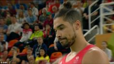 There was heartbreak for Team GB's gymnasts after self-proclaimed team leader Louis Smith fell off the pommel horse during the final