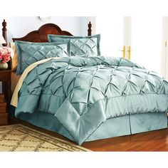 also in sage, plum, and peacock $69.94 4 piece comforter set