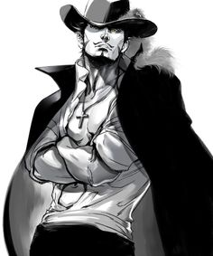 Dracule Mihawk    _One Piece