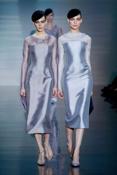 Armani Privé at Couture Fall 2012