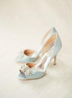 f0b6434827 Classic New York Vineyard Wedding - Elizabeth Anne Designs: The Wedding Blog.  Blue Wedding HeelsBlue Bridal ...