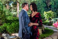 "Good Witch, Season 3 ""Without Magic for a Spell"" Cassie and Sam share a moment in the garden. Watch their romance bloom on Sundays 9p/8c on Hallmark Channel. #goodies #hallmarkchannel"