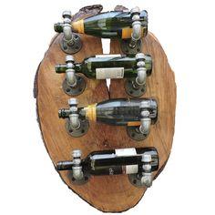 El botellero bricolero es una pieza única, irrepetible, un proyecto hecho con mucha dedicación, conoce el proceso y aprende lo necesario para poder construir el tuyo. Wine Rack, Storage, Metal, Home Decor, Organizers, So Done, Wood, Blue Prints, Purse Storage