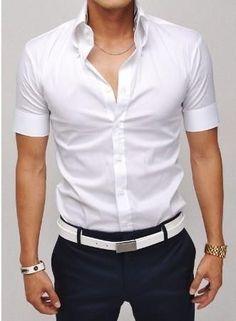 Мужская рубашка для декушки фото