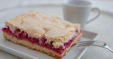 Klasický nielen letný koláčik, ktorého sladkosť nádherne balansuje skyslými ríbezľami. Pavlova, Baked Goods, Smoothie, Sandwiches, Bakery, Pie, Recipes, Food, Pastries