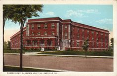 Nurses' Home, Lakeview Hospital, Danville, Ill.