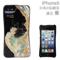 Japanese Lacquer Artwork Yamanaka-Shikki Makie iPhone 5/iPhone 5s Case (Wave)