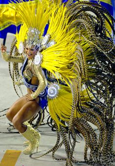 and more feathers, samba school dancer, Brazil.. this is the dance I've always wanted to dance