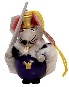 Retired Steinbach Nutcracker Mouse King German Wooden Christmas Ornament >>> Find out more about the great product at the image link.
