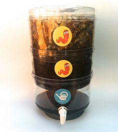 Composteira Ecopedagógica: para as crianças visualizarem o processo de reaproveitamento de resíduo orgânico