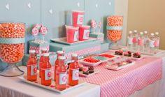 Project Nursery - #decoracao #diadosnamorados #mesa #coracao #vermelho #valentinesday #decor