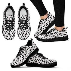 Yin And Yang Cats Sneakers - Women's and Men's