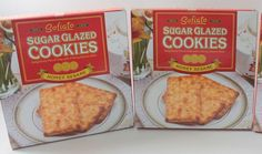 SOFIATO Honey Sesame Sugar Glazed Cookies TWO (36 COUNT) BOXES (BB 5/2017) #Sofiato