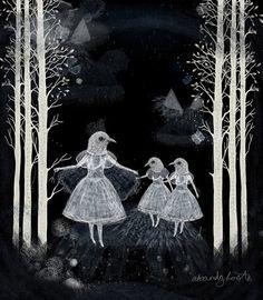 Nocturnes, illustrat