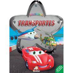 Livro Colorindo Transportes