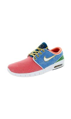3d8978ea8d 120  - Nike Men s Stefan Janoski Max L QS Rio White Photo Blue Skate Shoe  11.5 Men US from NIKE- Modified to meet the demands of skateboarders- Nike  ...