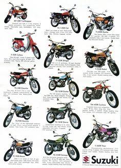 1971 Suzuki Motorcycles Advertising Hot Rod Magazine March 1971 | by SenseiAlan Enduro Vintage, Motos Vintage, Vintage Motocross, Vintage Bikes, Retro Vintage, Enduro Motorcycle, Motorcycle Posters, Motorcycle Types, Kids Motorcycle