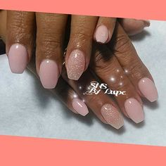 SNS nails (dipping powders) by Lupe !