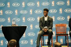 Jimmy Butler's hard work is rewarded as he becomes the first #Bulls player in franchise history to win Most Improved Player. In his fourth season in the NBA, Jimmy posted career highs in scoring, rebounding and assists, and also made his first trip to the NBA All-Star Game. Congrats, Jimmy!