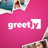 Greetly-uses facebook photos to create greeting cards