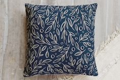 Leaf Toss Pillow by Alethea and Ruth | Minted