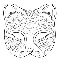 35 coloring pages africa coloring pages mask template cheetah within cat mask coloring pages Pj Masks Coloring Pages, Cat Coloring Page, Free Printable Coloring Pages, Coloring For Kids, Coloring Pages For Kids, Coloring Sheets, Adult Coloring, Colouring, Cheetah Birthday