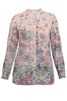 Monet's Garden Shirt - Designer Women's Clothes Online