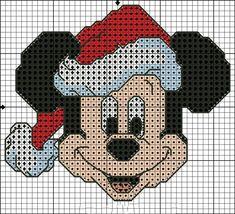 Kanaviçe Mickey Mouse Örnekleri (27) Xmas Cross Stitch, Cross Stitch Cards, Cross Stitching, Cross Stitch Embroidery, Disney Cross Stitch Patterns, Cross Stitch Designs, Cross Stitch Patterns Free Christmas, Disney Stich, Stitch Cartoon