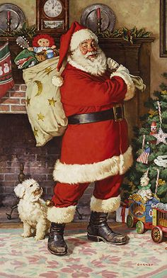 SANTA CLAUS  by James Gurney