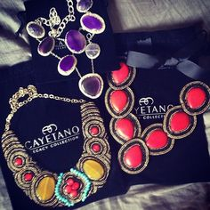 How's this for statementnecklace?! Fab Birthday Sale steals from Cayetano Legacy Collection www.cayetanolegacy.com