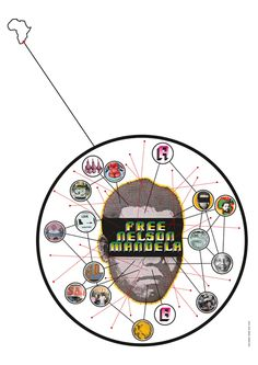 Mandela Mandalas (and Other Garth Walker Artifacts from South Africa) on http://imprint.printmag.com