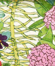 Anna's Garden B Silk Satin