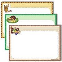 karty na przepisy kulinarne