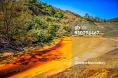 Contaminated water in #SaoDomingosMine - #Alentejo, #Portugal.    #stock #photography #print #travel #urbex  