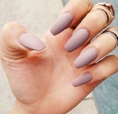 Awesome simple nails Everything Happens For A Reason