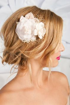 Love loose, romantic updos!!