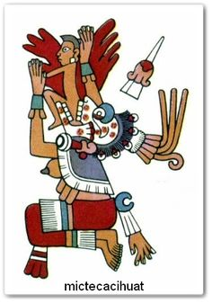 "In Aztec mythology, Mictecacihuatl (literally ""Lady of the Dead"") is Queen of Mictlan, the underworld, ruling over the afterlife with Mictlantecuhtli, another deity who is her husband. Native Art, Native American Art, Mexico Tattoo, O Ritual, Intro To Art, Chicano Drawings, Aztec Tattoo Designs, World Mythology, Aztec Culture"