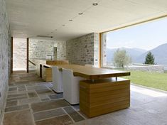 Swiss studio Markus Wespi Jérôme de Meuron Architetti has designed the Brione House.    Completed in 2005, this beautiful contemporary home is located in Brione sopra Minusio, a small town in the canton of Ticino, Switzerland.