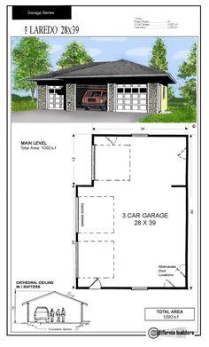 Loft Garage Plans Pdf And Dwg Shops