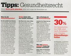 FOCUS Spezial Nov./Dez. 2013 - Deuschlands Top-Anwälte Tipps: Gesundheitsrecht - Rechtsanwaltskanzlei Sabrina Diehl