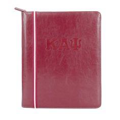 6ba5c13b09 Kappa Alpha Psi Signature Stripe Zippered Portfolio – Nupemall Kappa Alpha  Psi