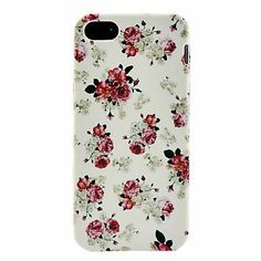 Rose Pattern Soft TPU Case for iPhone 5/5S Sale Begins in - Accessories for iPhone 5/5S