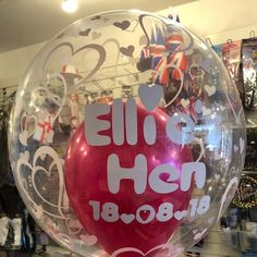 Dont forget we can personalise balloon decorations to make them even more special and memorable! 🎈