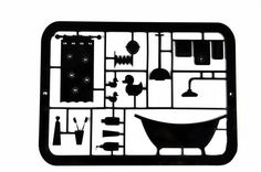 Decor bathroom sign. Creative & Funny bathroom door sign - bath accessories - a good Housewarming gift. Bath Time!